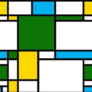 Mondrian // Spring Meadow