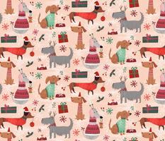 Christmas woofs