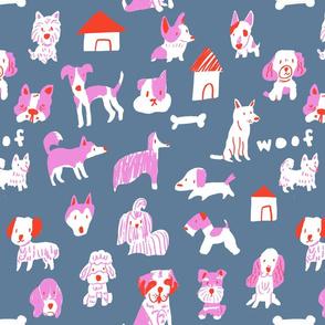 dog pattern rp2