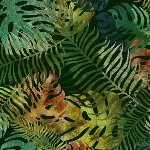 Tropical Foliage Green