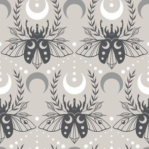 Beetle and Crescent Moons