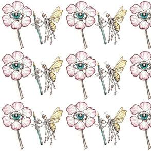 Eye Love Flowers Says The Art Bee