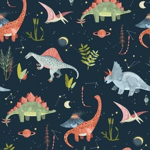Dinosaur Cosmic Night / Small Scale