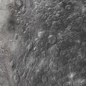 Mercury Surface Large Scale High Resolution Moon