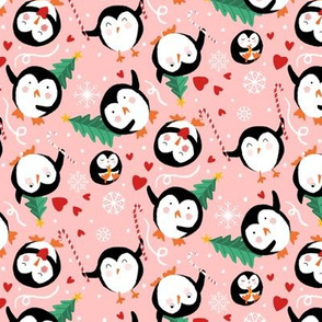Penguin Christmas Love