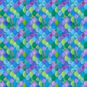 Multicolor Mermaid (rotated)