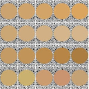 Peacoquette Designs Palette ~ Gingerbread Variations