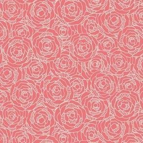 Modern Blossom - Poppy - Small Scale