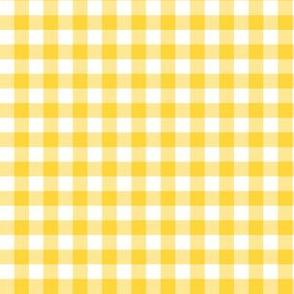 "6"" Yellow Gingham"
