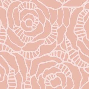 Modern Blossom - Crème de la Crème - Large Scale