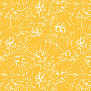 Yellow Jellyfish Bloom