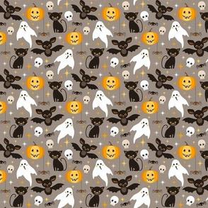 halloween friends - small