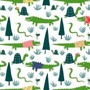 gators on vacation