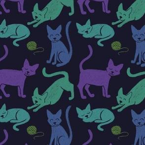 Chalk Kitties