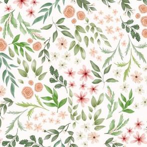 Botanical sweet flower heaven