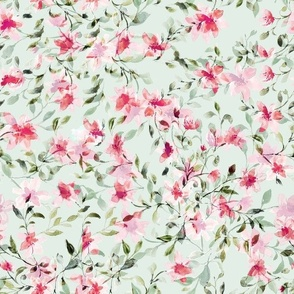 Rose limited watercolor (black)