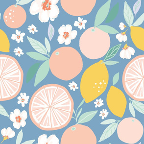 Indy bloom design Grapefruit Lemon JUMBO