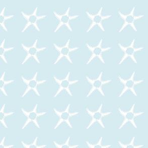 Simple White Starfish