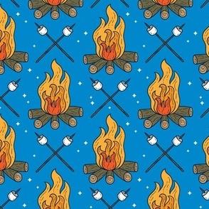 Campfire & Marshmallows Camping