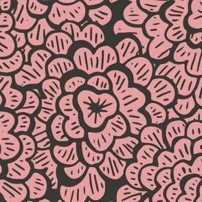 Whimsical Floral - Ooh La La - Large Scale