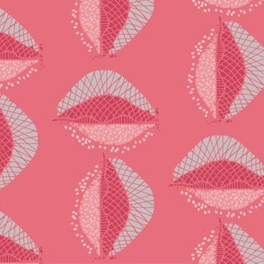 Seashell Geo - Pink large