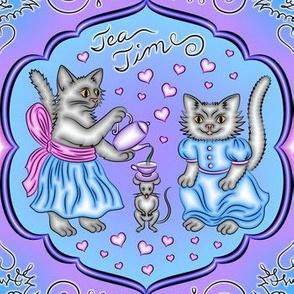 Tea Time for Kittens