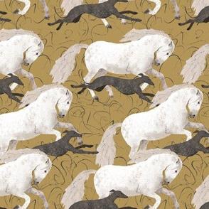 Horse und sighthound