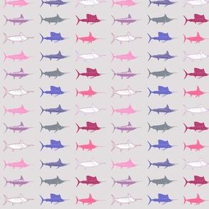 Pink / Grey Billfish Slam