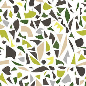 Abstract Terrazzo - lime