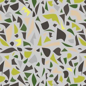 Abstract Terrazzo - lemon