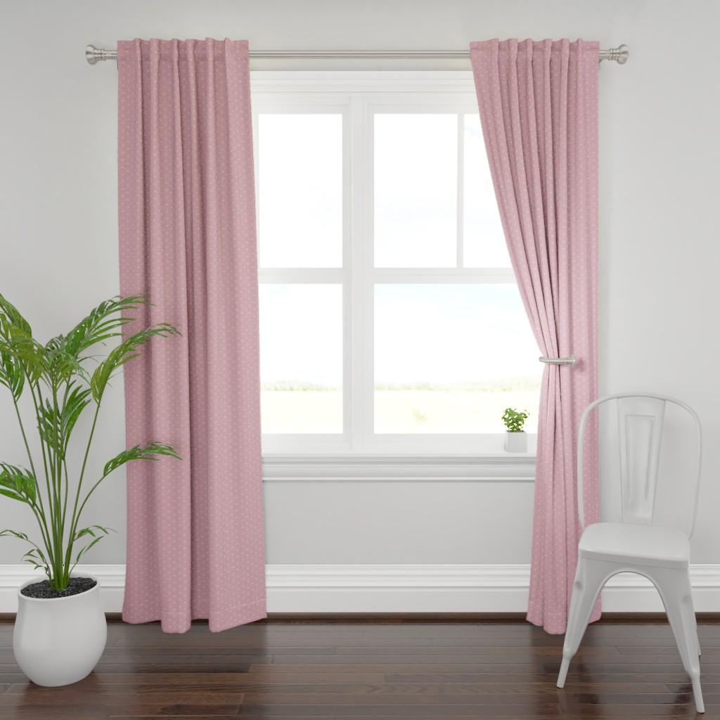 Plymouth Curtain Panel featuring Sweet Rainbow by alexmichiardi