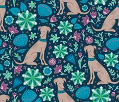 flowery dog dream