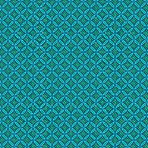 Aqua Charm: Bitty Criss-Cross