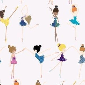 Born to Dance tiny dancers-funky multicolor