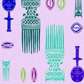 African_Beauty_purple