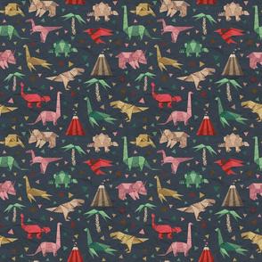 Origami dinosaurs - 9x9