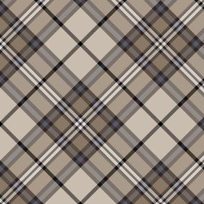 """Southdown tartan - 10"""" diagonal custom colors"""