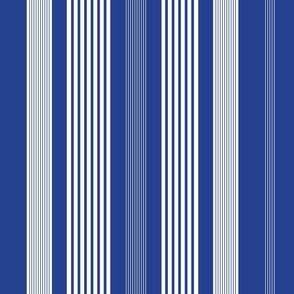 Classic Stripe Royal Blue