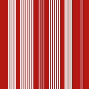 Classic Stripe Regatta Red