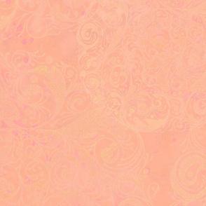 shrimp pointallist background