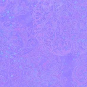 purple pointallist background
