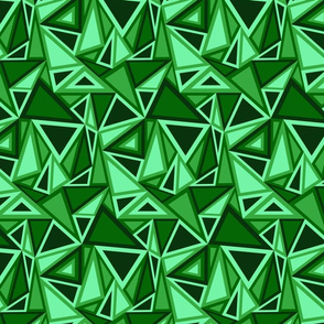 Geometric Green Triangles