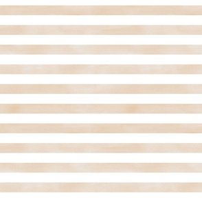 Watercolor Stripe in tan, camel, neutral and white