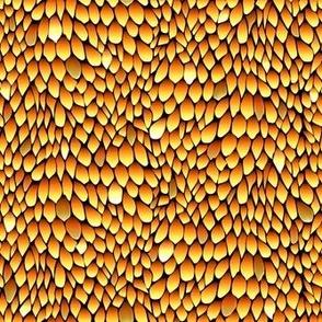 Sparkled Gold Dragon
