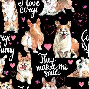 I Love corgi