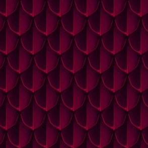 Dragonscale, deep red