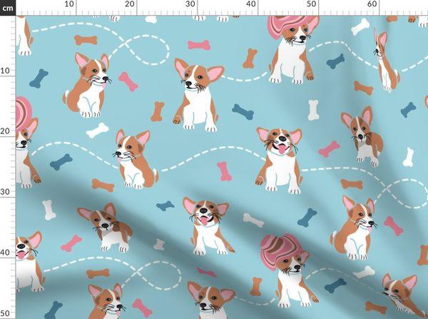 Fabric By The Yard Dog Days