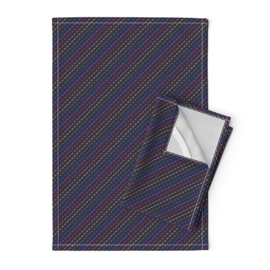 Orpington Tea Towels featuring Rainbones by autumn_musick
