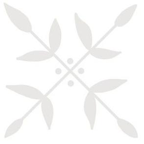 Fiona - Geometric Leaf in Sand