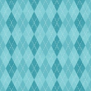 argyle pastel blues